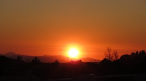 Mesa, Arizona Sunset