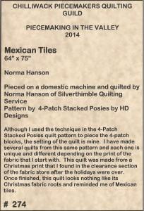 ~Mexican Tiles