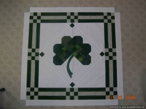 ST. PATRICK'S DAY - 39 inches square