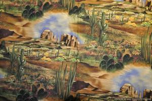 "Backing for Cacti BQ - ""Desert View"" by Michael Miller"