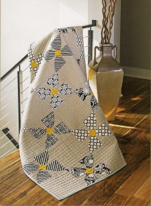 Modern Millie Quilt from the book:  Contemporary Curved Quilts