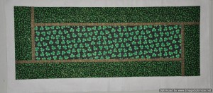 1 - St Patrick's Day Table Runner