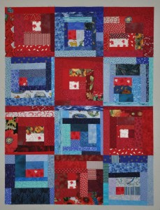 10 - Canada's Big Quilt Bee Slab Quilt - needs quilting & binding