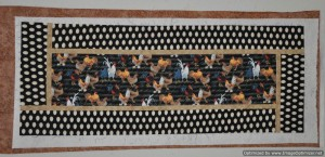 3 - Chicken Table Runner - needs quilting & binding