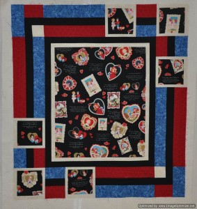 5 - Valentine's Day - this one needs quilting & binding
