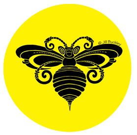 CQA2017--Bee-Black-Yellow-circle