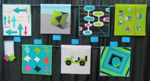 Creativ Festival Challenge Quilts - Group 1